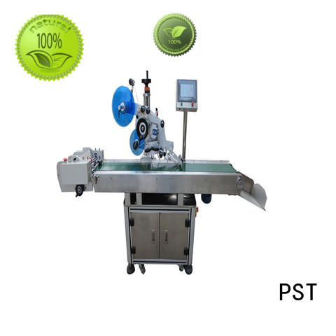 PST fully Flat Labeling Machine high end for cards