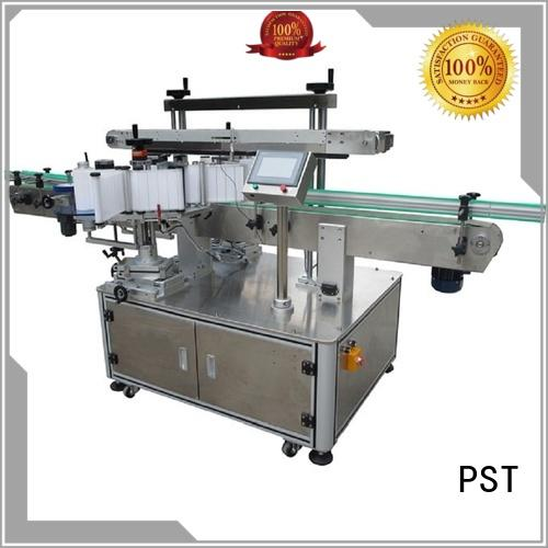 PST fully automatic double side labeling machine factory price for packing