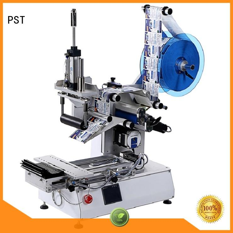PST semi automatic automatic label applicator supplier for cards