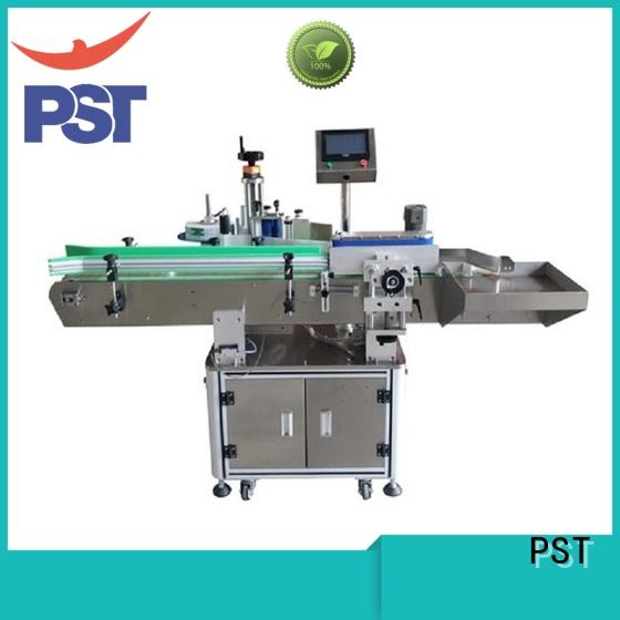 PST top automatic bottle labeling machine supply for cosmetics bottles