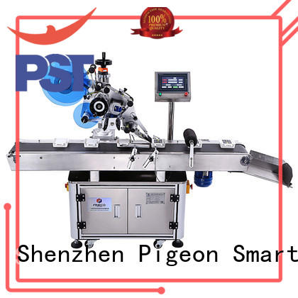 high end flat surface labeling machine excellent for flat bottles PST