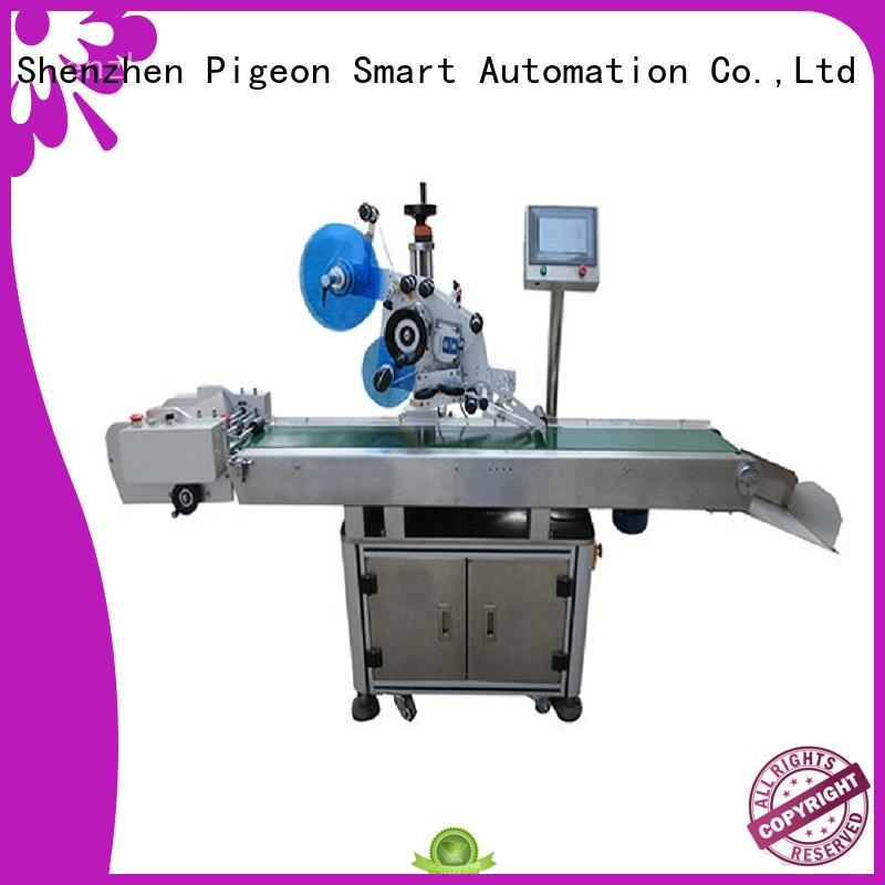 PST hot sale automatic flat labeling machine factory for bags
