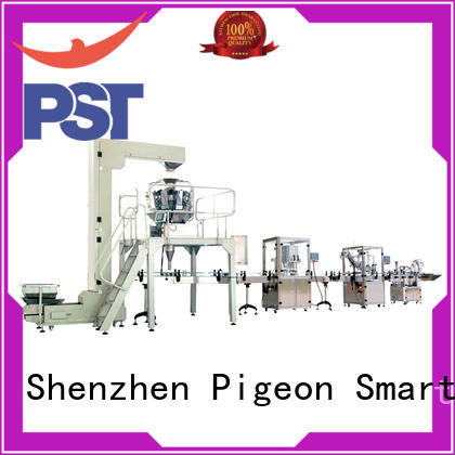 PST custom labeling production line supplier for industry
