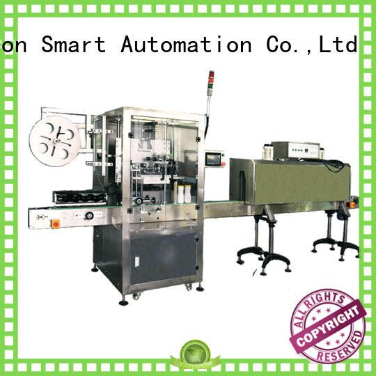 around automatic bottle labeling machine shrink labeling equipment for flat bottles
