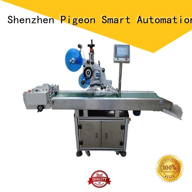 automatic flat labeling machine fast delivery for box PST