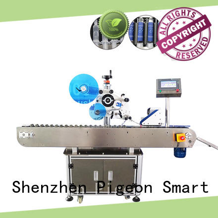 PST high quality label applicator machines company for round bottles