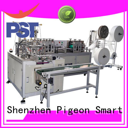 PST flat face mask machine suppliers for business