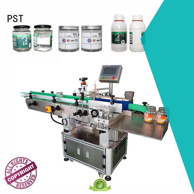 PST automatic bottle labeling machine factory for round bottles