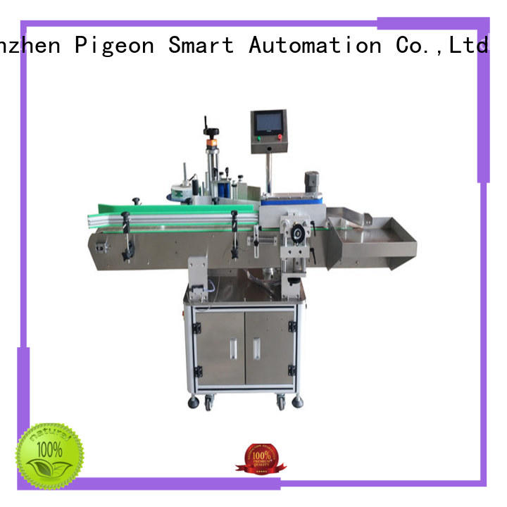 PST semi automatic automatic bottle labeling machine supplier for round bottles