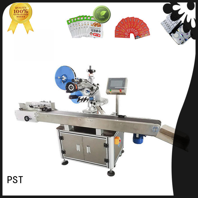 PST corner automatic label applicator machine design for industry