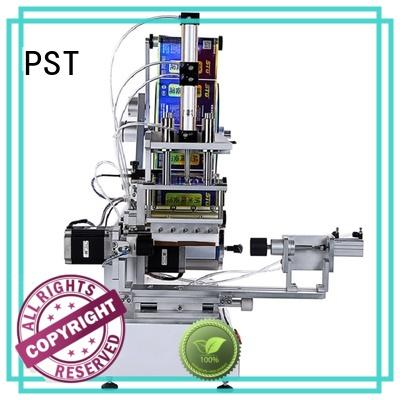 PST hot sale flat labeling machine wholesale for box corner