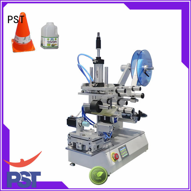 flat flat labeling machine for busniess for cards