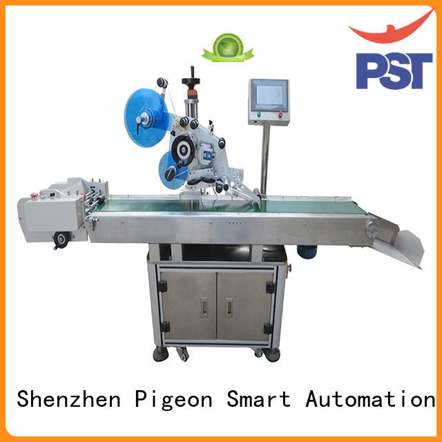 PST flat plance labeling machine for busniess for square bottles