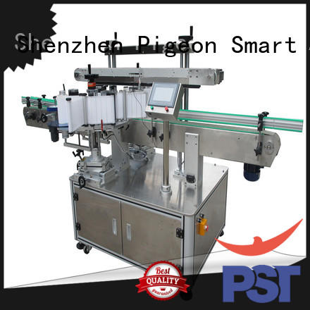 fully semi automatic labeling machine manufacturer for flat bottles