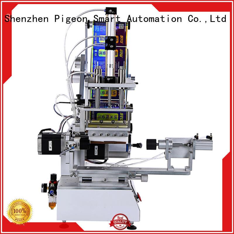 PST wrap bottle labeling machine for sale manufacturer for square bottles