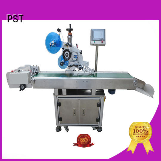 PST flat labeling machine supplier for flat bottles