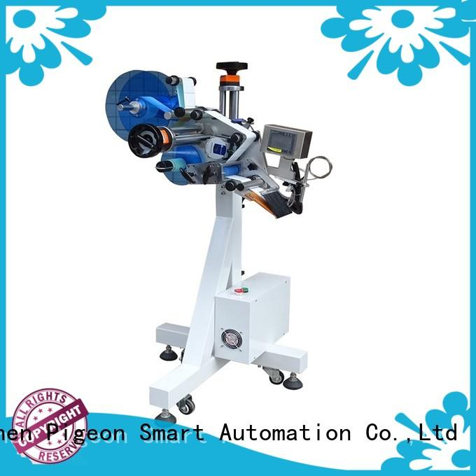 PST top automatic plane labeling machine manufacturer for bags