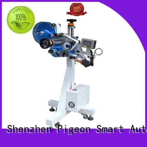 PST automatic flat labeling machine factory price for bags
