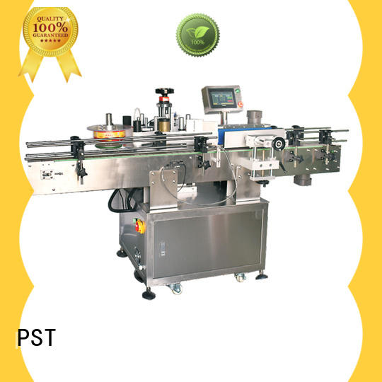 PST automatic label applicator factory for round bottles