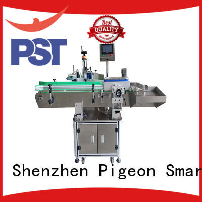 PST round automatic bottle labeling machine labeling for
