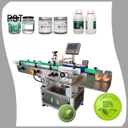PST fully auto label machine company for boxes