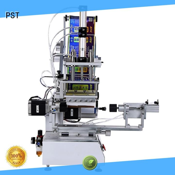 PST flat labeling machine wholesale for square bottles