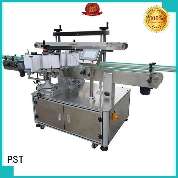 PST double side labeling machine company for bucket