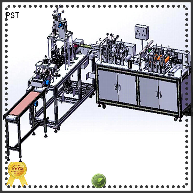 PST best selling KF94 full automatic mask machine suppliers for medical products