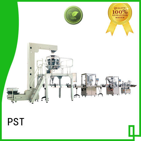 PST custom labeling production line factory for industry