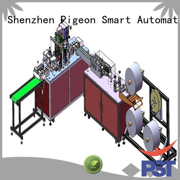 PST disposable face mask machine manufacturers for medical usage