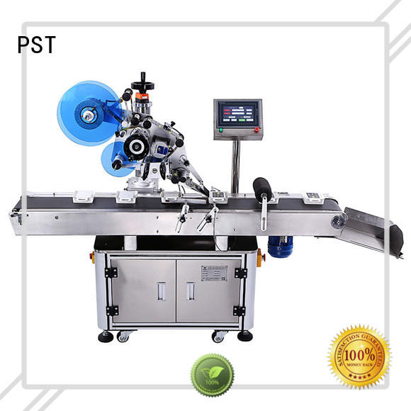 automatic flat labeling machine wholesale for book PST