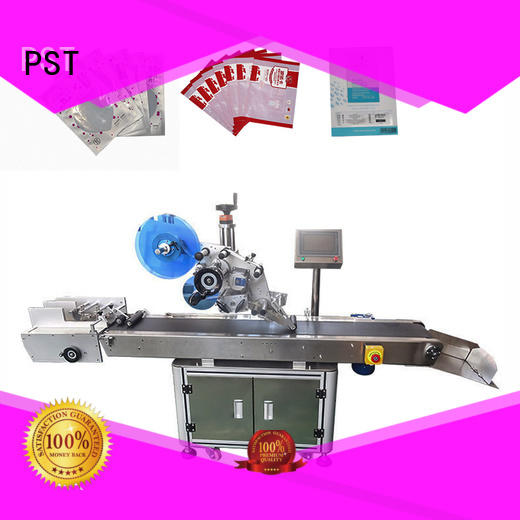 PST new flat labeling machine for busniess for round bottles