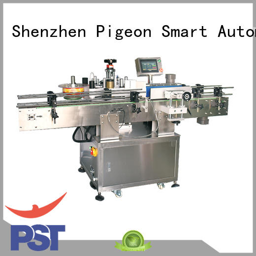 PST sticker labelling machine for busniess for flat bottles
