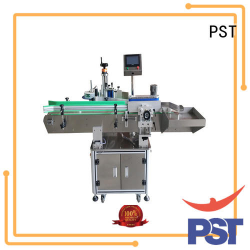 semi automatic automatic bottle labeling machine wholesale for boxes PST