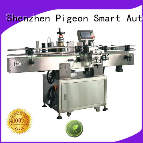 PST semi automatic automatic bottle labeling machine supplier for boxes