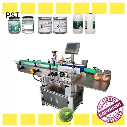 PST wrap auto label machine supplier for square bottles