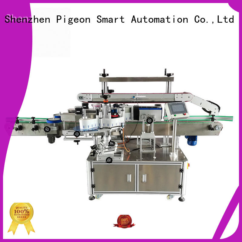 PST double side sticker labeling machine supplier for square bottles