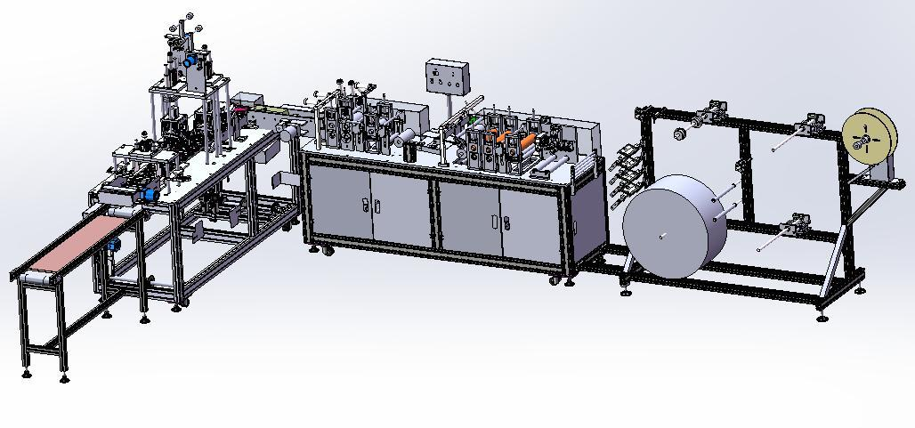 wholesale KF94 full automatic mask machine manufacturers for medical products-3