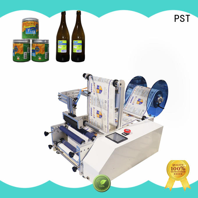 PST double sizes labeling equipment bucket for boxes