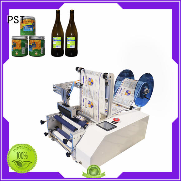 high quality semi automatic bottle label applicator company for round bottles