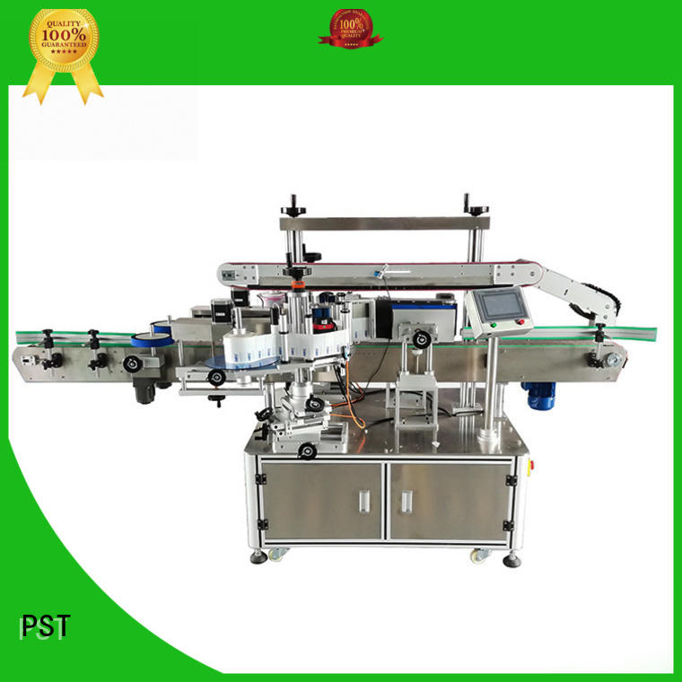 semi automatic double side labeling machine company for round bottles