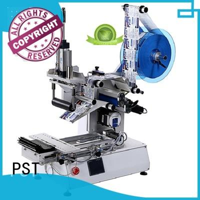 PST horizontal automatic label applicator supply for round bottles