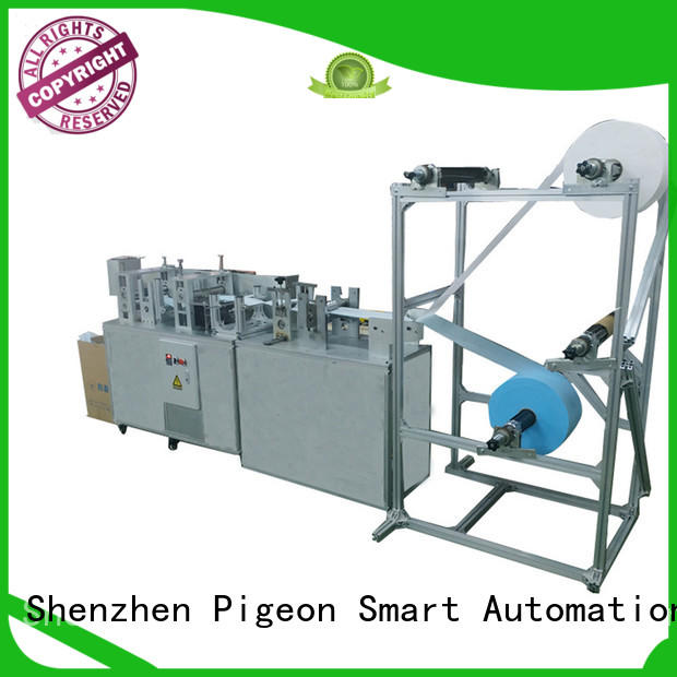 PST flat disposal face mask machine company for sale