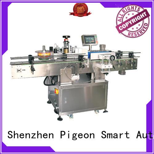 PST horizontal sticker labelling machine supplier for round bottles
