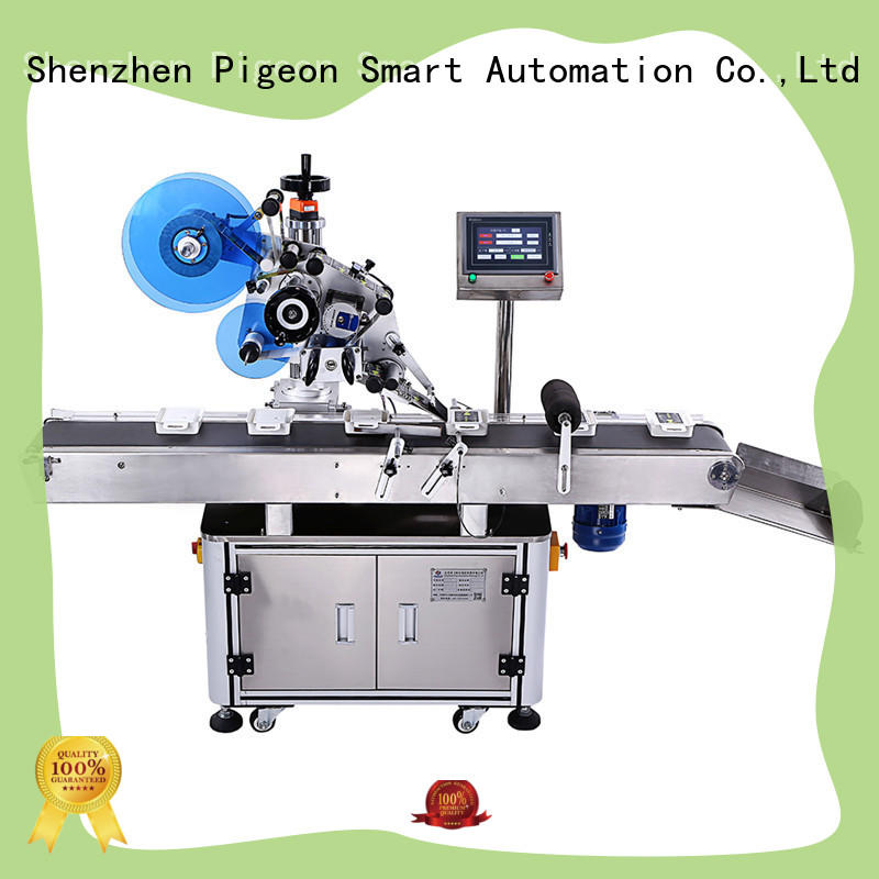fully automatic automatic flat labeling machine factory price for bags