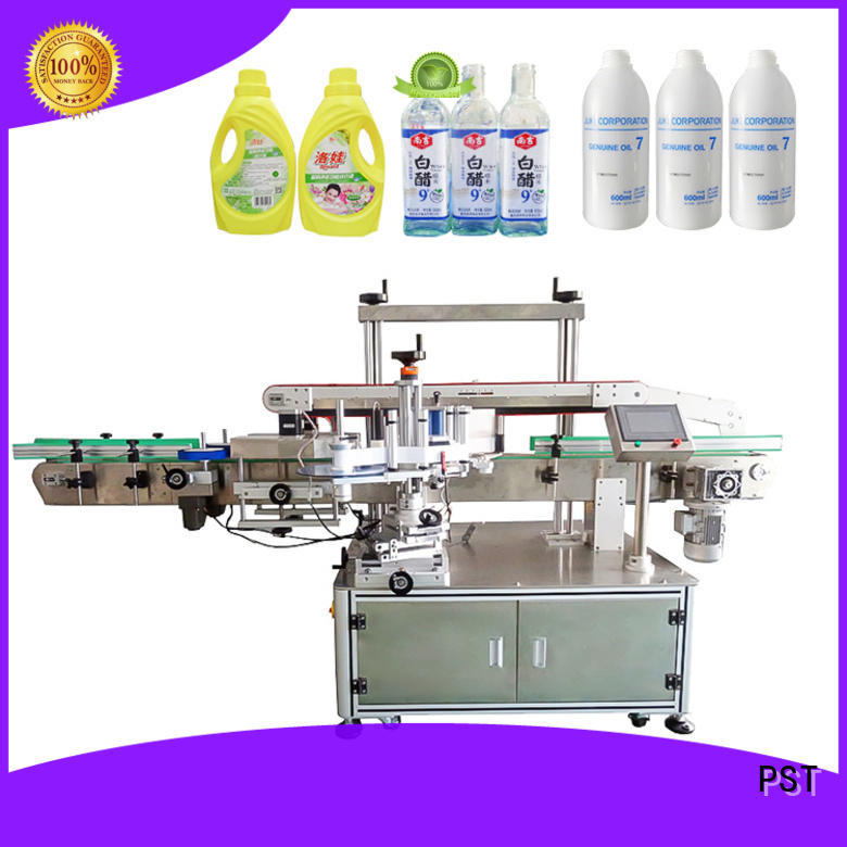 PST high quality semi automatic labeling machine company for round bottles