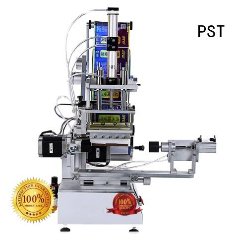 flat labeling machine factory price for round bottles PST