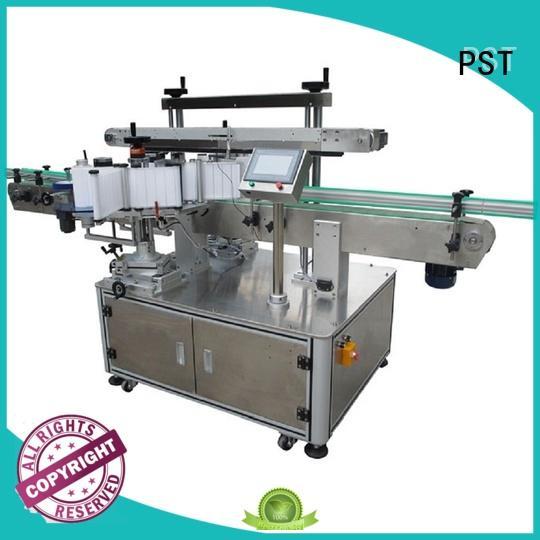 PST new side label applicator supplier for square bottle