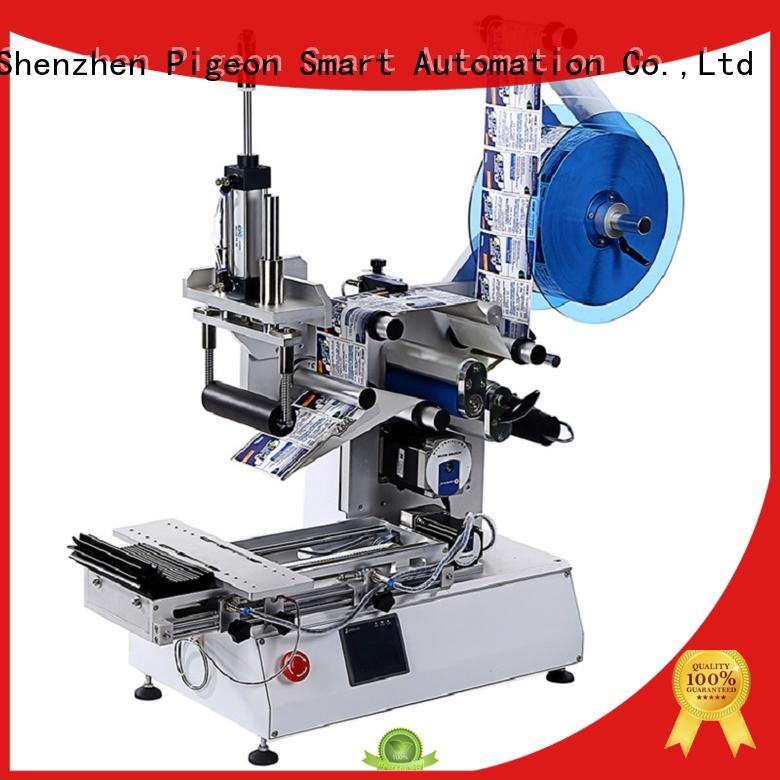 PST automatic label applicator shrink labeling equipment for cards