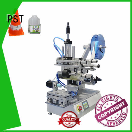 PST flat labeling machine company for square bottles
